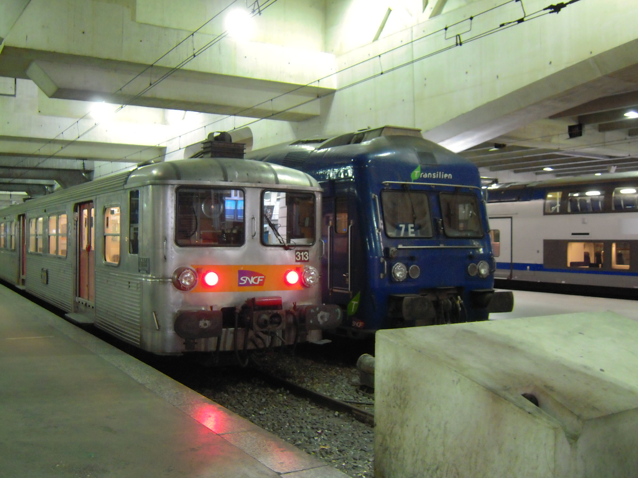 Rencontre train metro