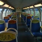 Tags dans un train de la ligne N