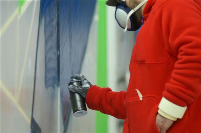 Inauguration d 39 une fresque en gare de plaisir les clayes for Castorama plaisir les clayes