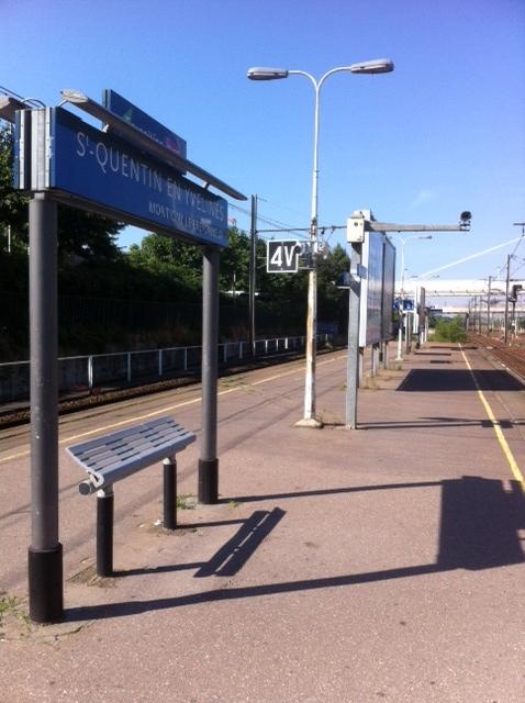 gare de St Quentin en Yvelines