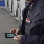 agent SNCF en gare