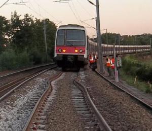 Déformation de rails sous l'effet de la chaleur