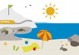illustration billet quizz de l'été