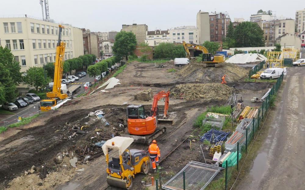 gpeclamart focus sur le chantier du grand express