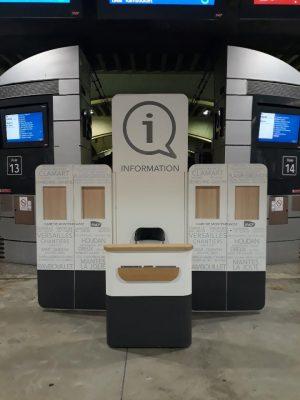 Kiosque Information Paris-Montparnasse