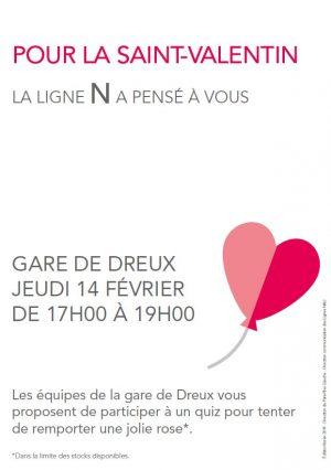 Stand Saint-Valentin à Dreux