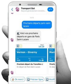 Chatbot Transilien