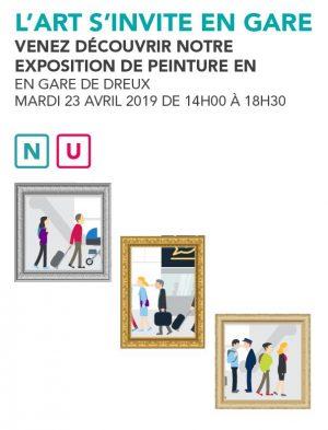 Exposition peinture Dreux - avril 2019