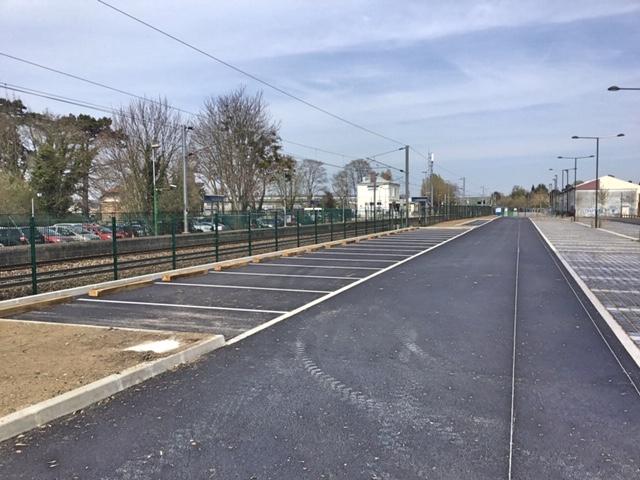 Villiers-Neauphle-Pontchartrain - Parking rue de la gare - avril 2019