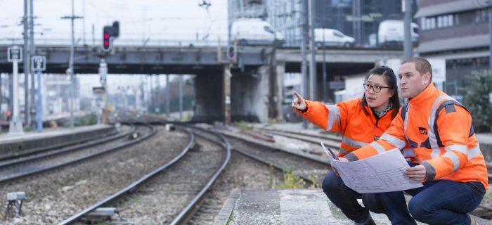 Travaux signalisation et aiguillages