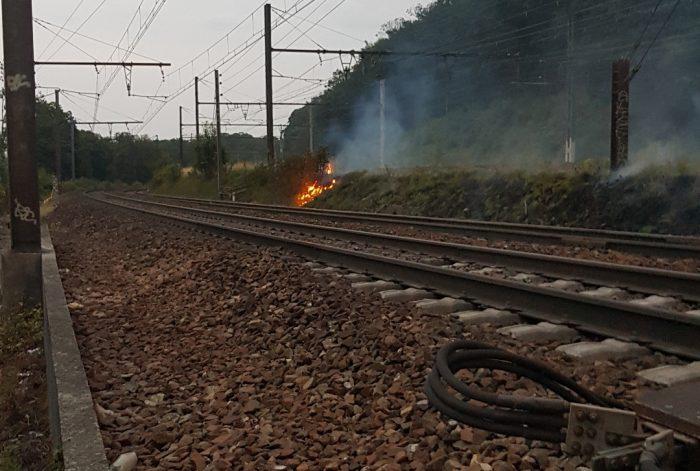Incendie à Saint-Cyr - 25-07-2019