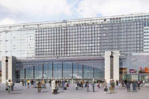 Gare Montparnasse - façade