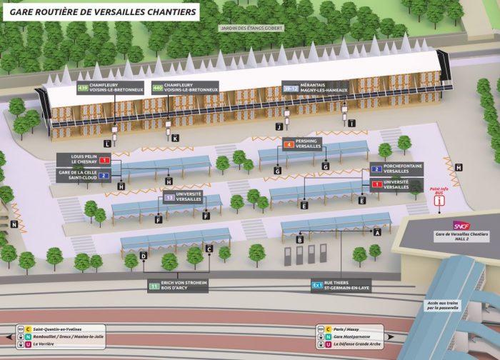 Versailles-Chantiers - Gare routière