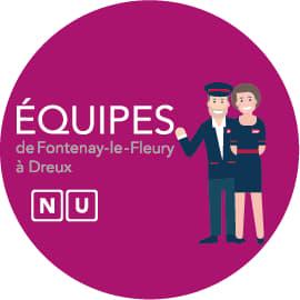 Equipes de Fontenay à Dreux
