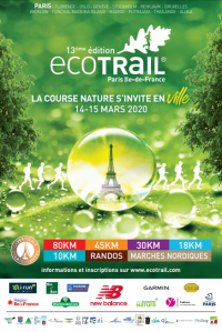 Affiche EcoTrail 2020
