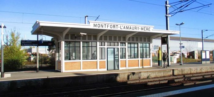 Montfort-l'Amaury - Méré - Abri de quai - Après les travaux