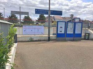 Souterrain gare - Les-Essarts-le-Roi