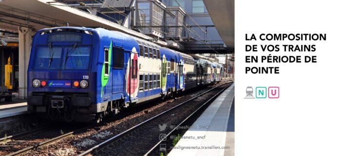 La composition de vos trains en période de pointe
