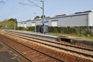 Garancières–La-Queue - Allongement du quai desservant la voie 2
