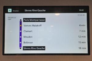 Regio2N - Écran vidéo - Information voyageurs