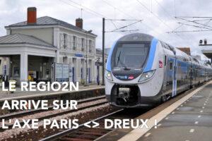 Regio2N - Axe Dreux - Gare de Montfort l'Amaury-Méré