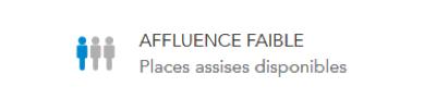 Faible affluence