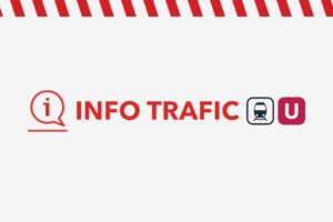 Info trafic ligne U